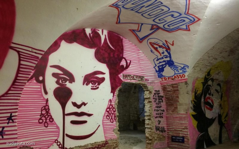 MAUSA Vauban Museum 街头艺术欣赏