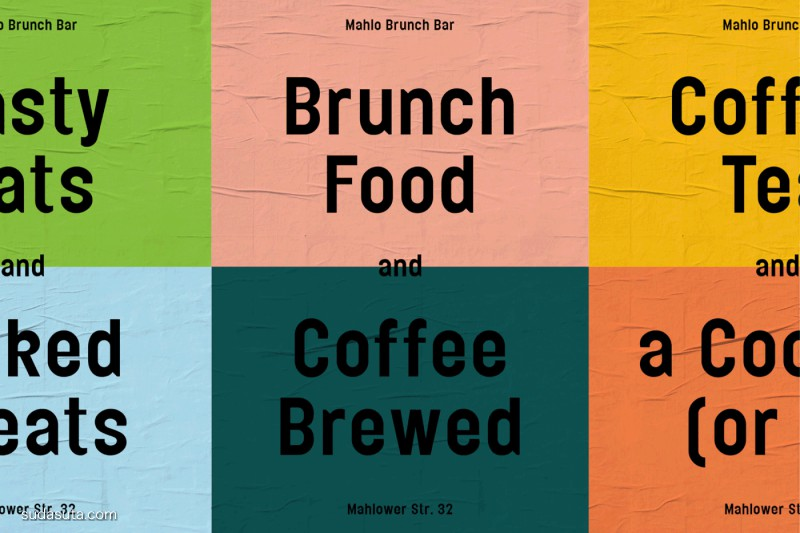 Mahlo Brunch Bar 品牌设计欣赏