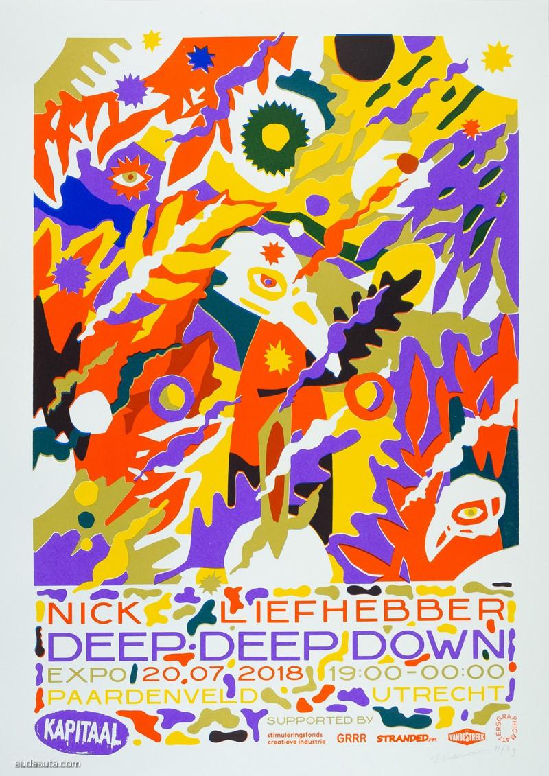 Nick Liefhebber 商业插画欣赏