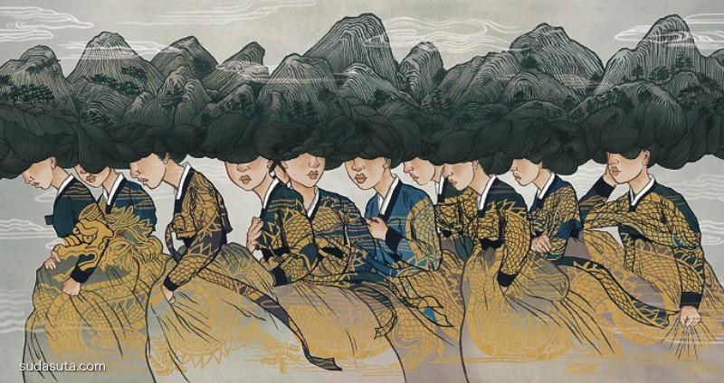 Sean Kwon 插画作品欣赏