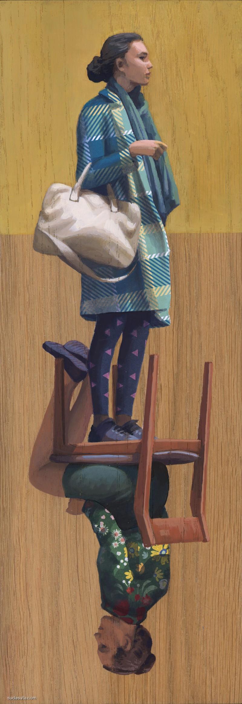 Cinta Vidal 椅子的两面