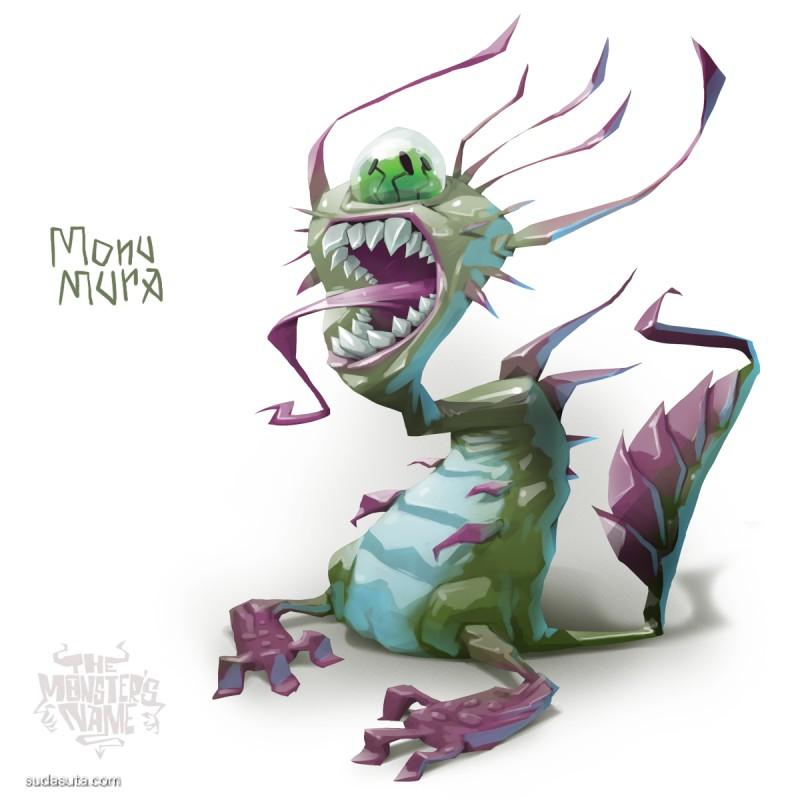 Ivan Nikulin 怪物图鉴