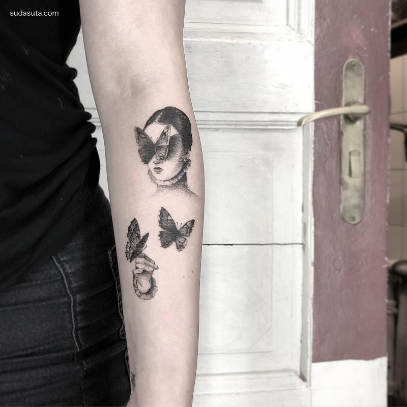Lena Lu 纹身设计欣赏