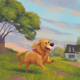 Natalie Murrow 狗狗的卡通造型设计