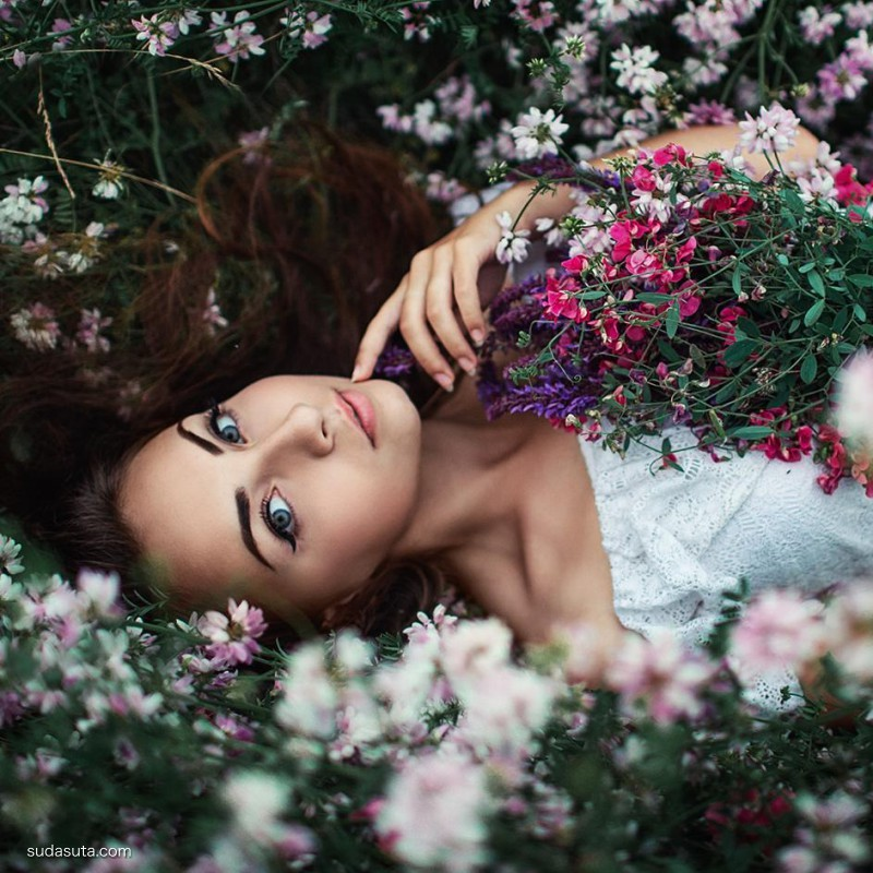 Sergey Shatskov 花仙子 人物肖像摄影欣赏