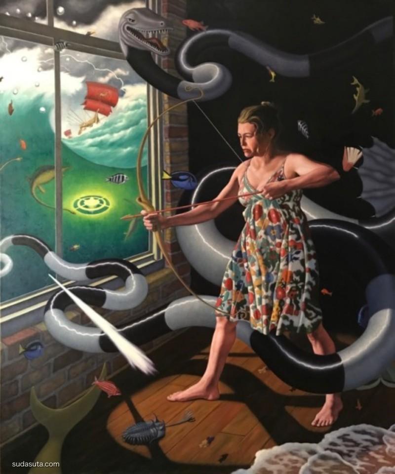 Steve Ohlrich 绘画艺术欣赏