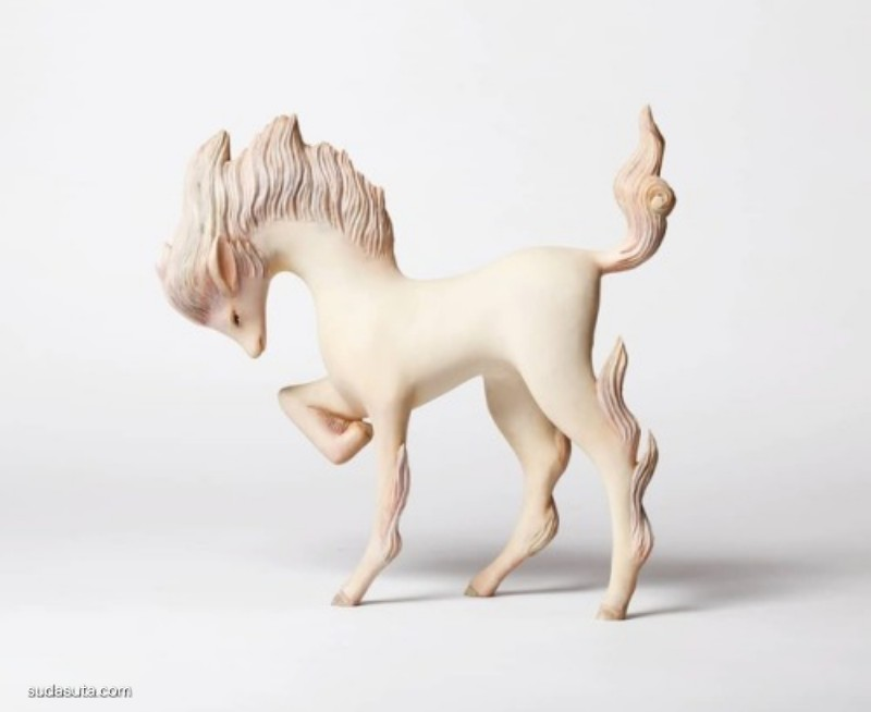 Yoshimasa Tsuchiya 白色的木头 怪物造型设计