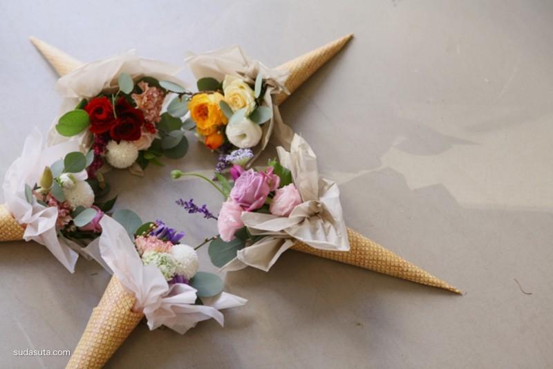西岱岛花艺 唯有鲜花和美食不可辜负