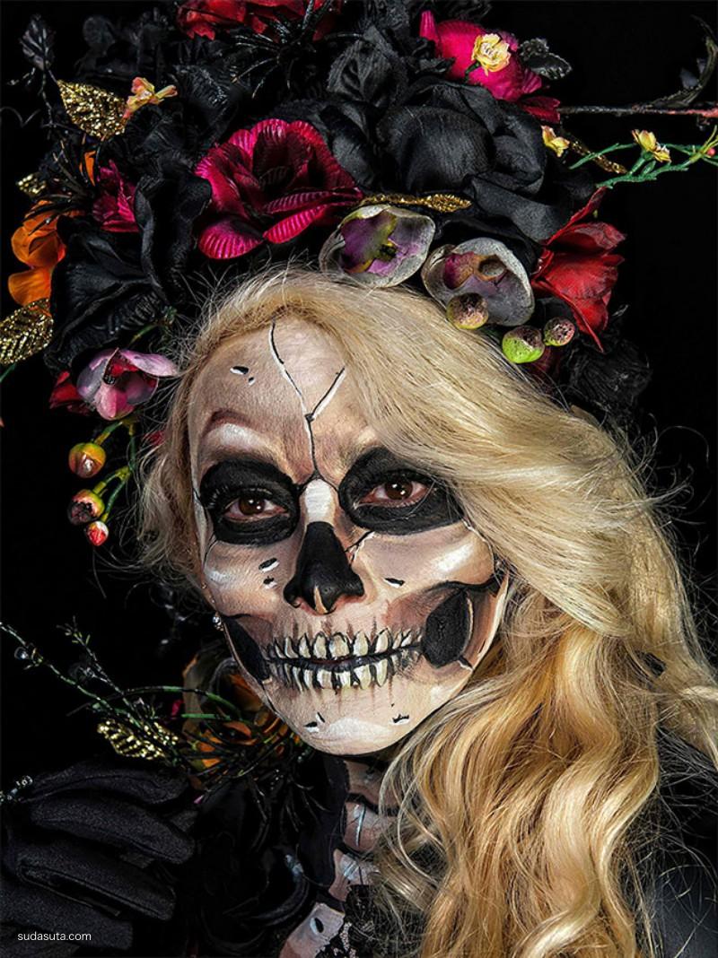 墨西哥亡灵节 彩妆设计欣赏