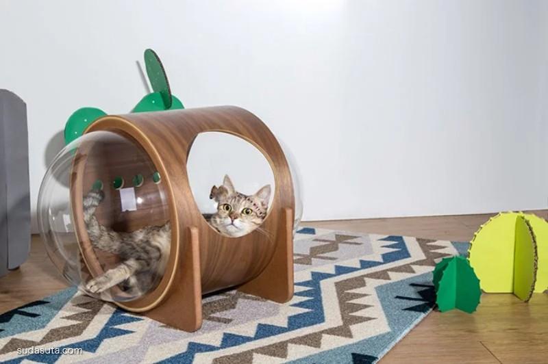 MyZoo 喵的设计 舒适而温暖的猫床