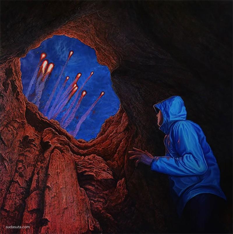Wiley Wallace 超现实主义绘画艺术欣赏