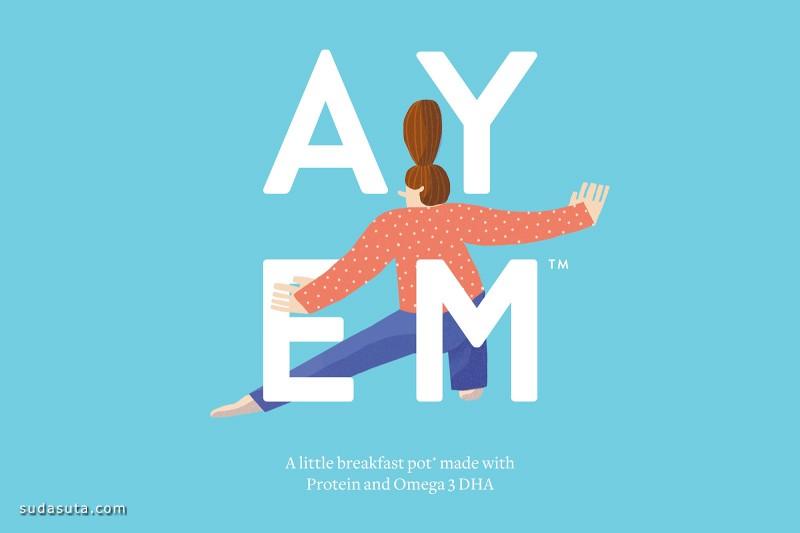 AYEM 品牌设计欣赏