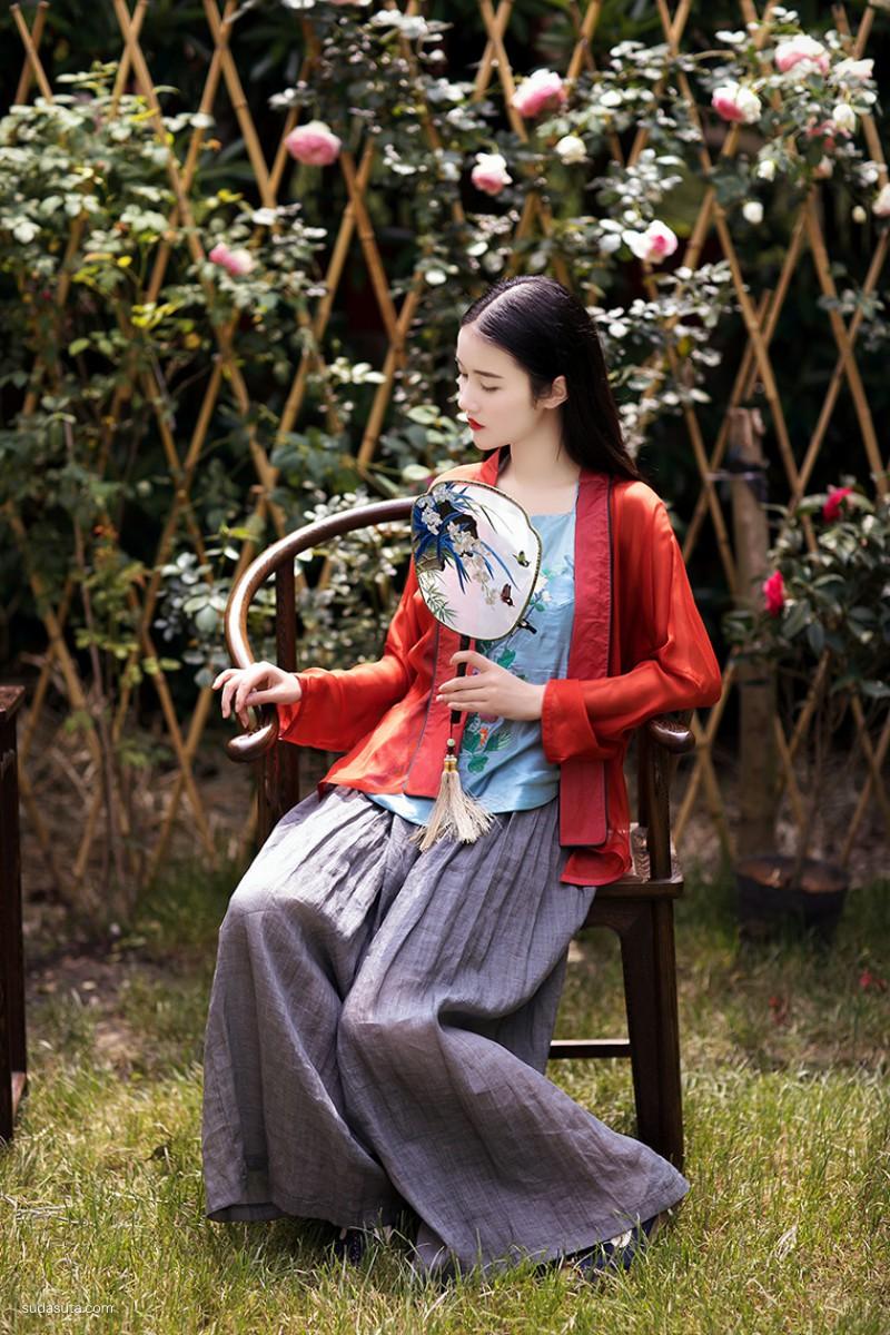 简爱设计坊 中国风女装设计品牌