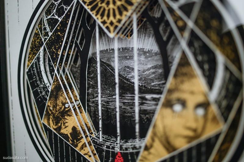 Alex Eckman-Lawn 混合艺术欣赏