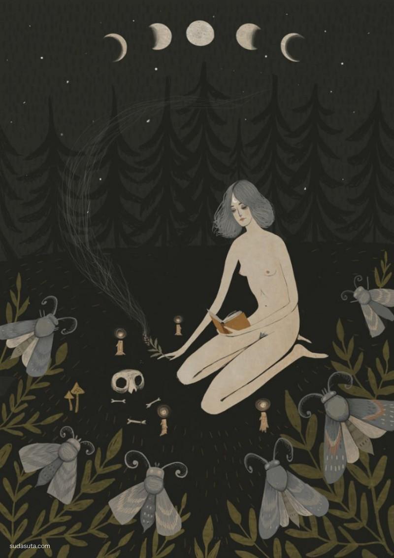 Alexandra Dvornikova 儿童插画欣赏