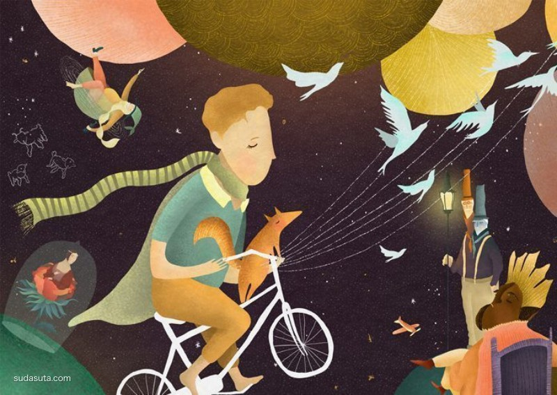 Amalia Restrepo 儿童插画欣赏