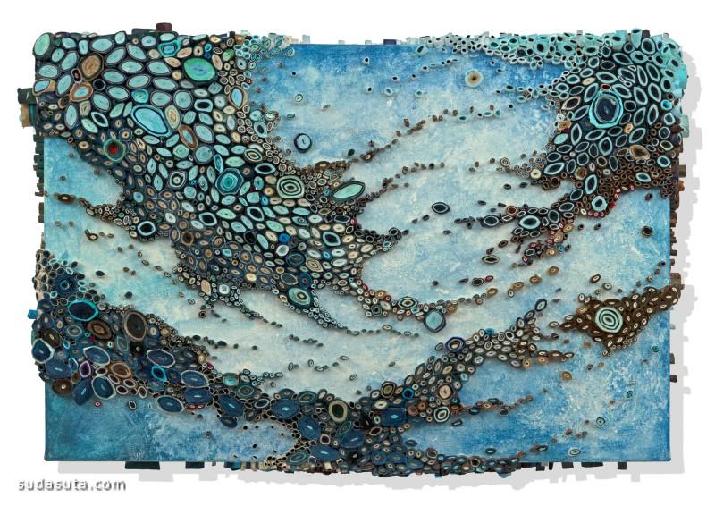 Amy Genser 不可思议的纸张艺术
