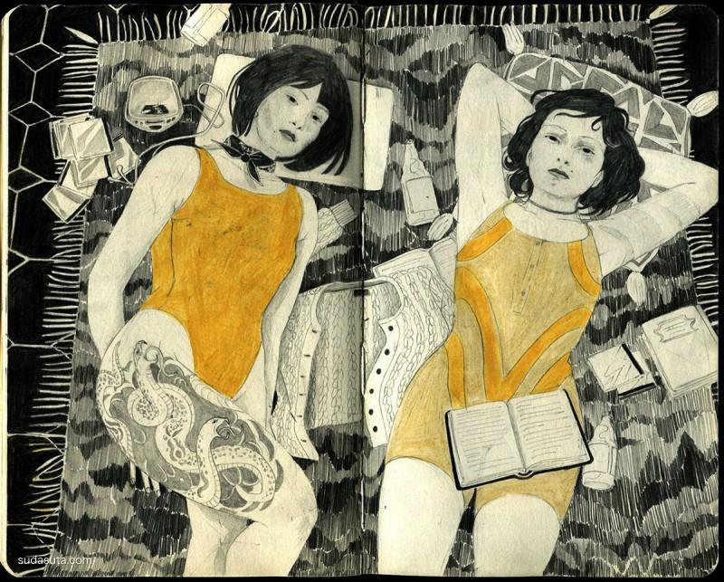 Angie Hoffmeister 手绘插画欣赏