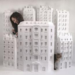Camille Ortoli 纸张建筑物