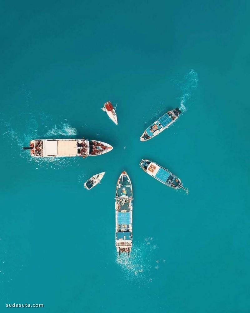 Costas Spathis 不可思议的鸟瞰摄影