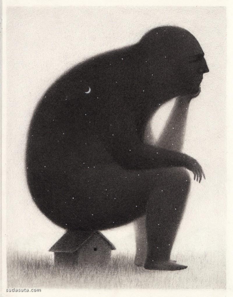 David Álvarez 禅意绘画