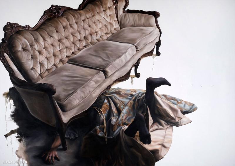 Drew Merritt 超现实主义绘画艺术欣赏