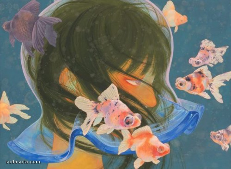 Fuco Ueda 恐怖插画作品欣赏