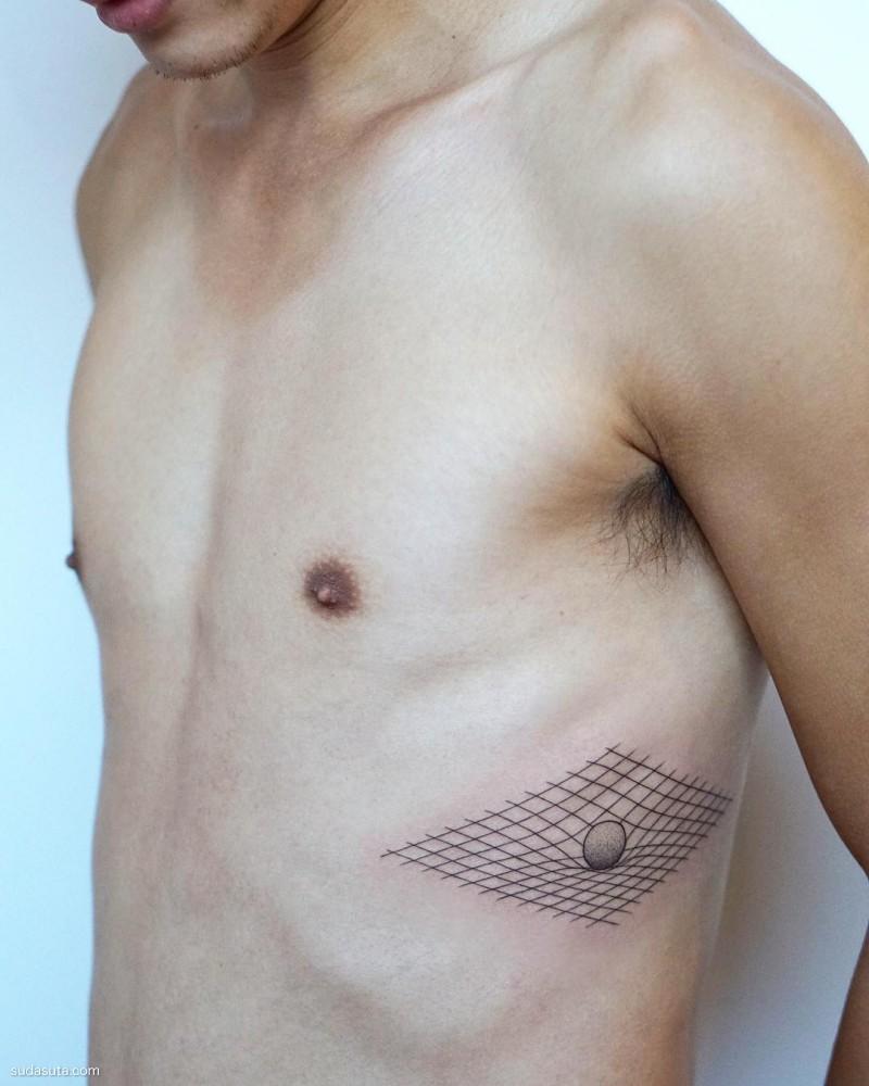 JESS CHEN 纹身设计欣赏