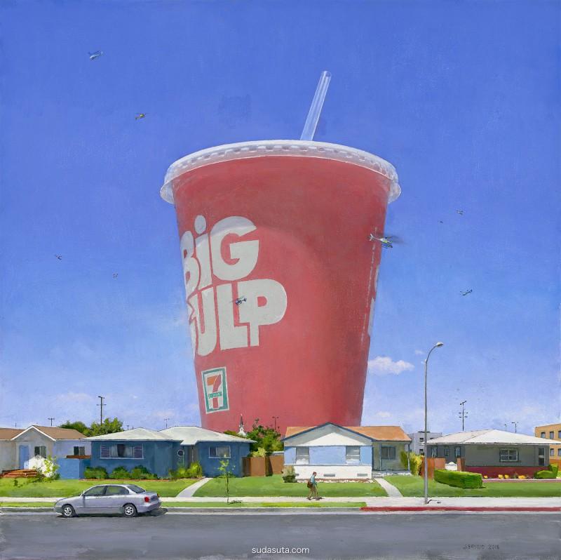 John Brosio 超现实主义绘画艺术欣赏