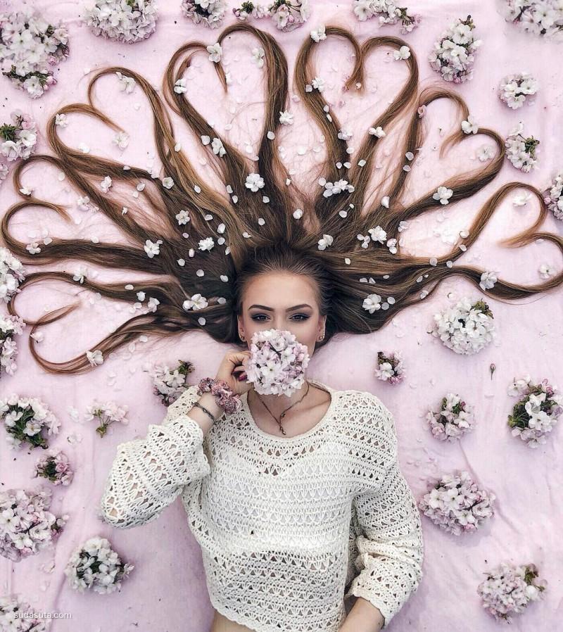 Krissy Elisabeth 长发公主与花