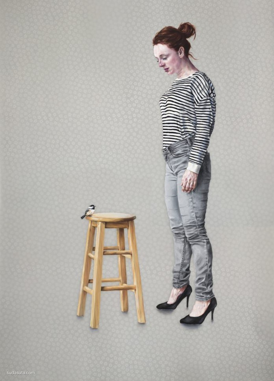 Kristy Blackwell 绘画艺术欣赏