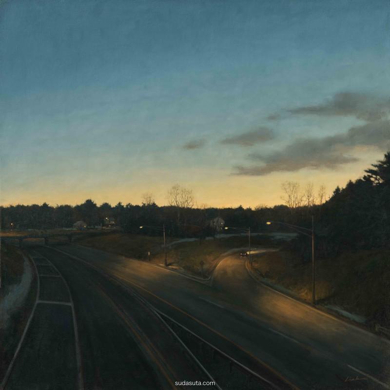 Linden Frederick 风景绘画欣赏