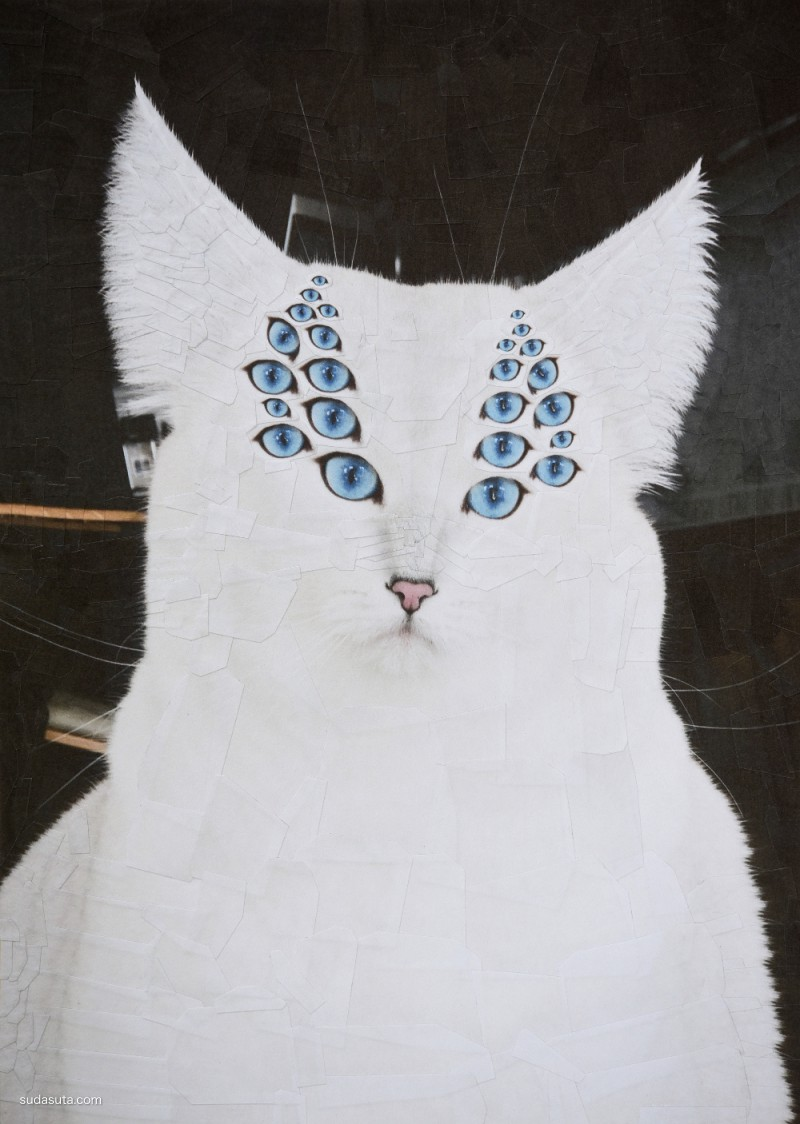 Lola Dupre 喵和汪的不可思议的艺术