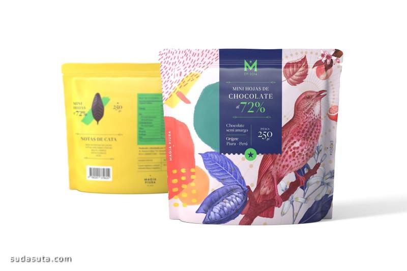 Magia Piura 巧克力包装设计欣赏