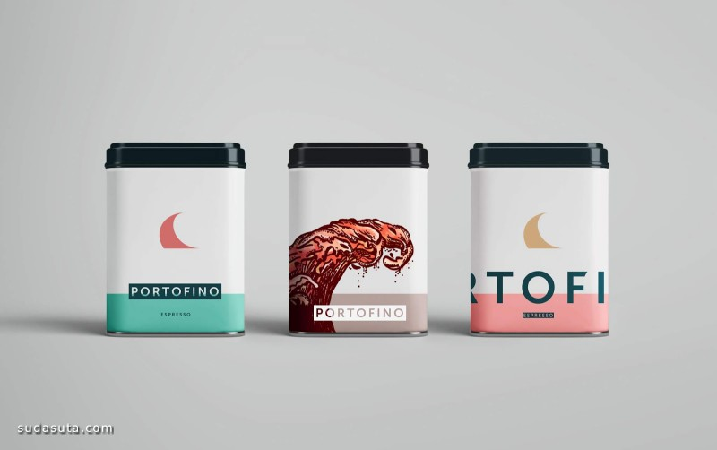 Portofino 超现实主义的咖啡品牌