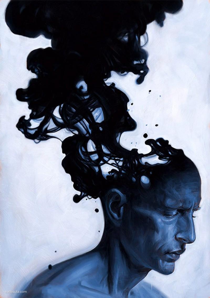 Robert Carter 超现实主义绘画艺术欣赏