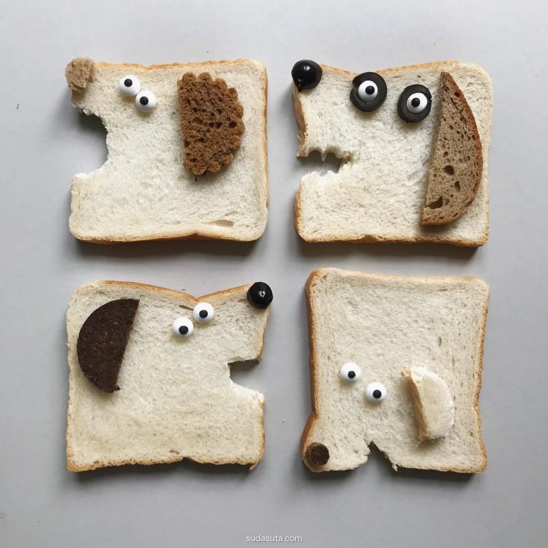 Sabine Timm 面包的艺术