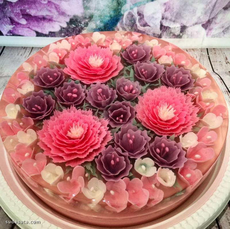 Siew Boon 不一样的果冻蛋糕