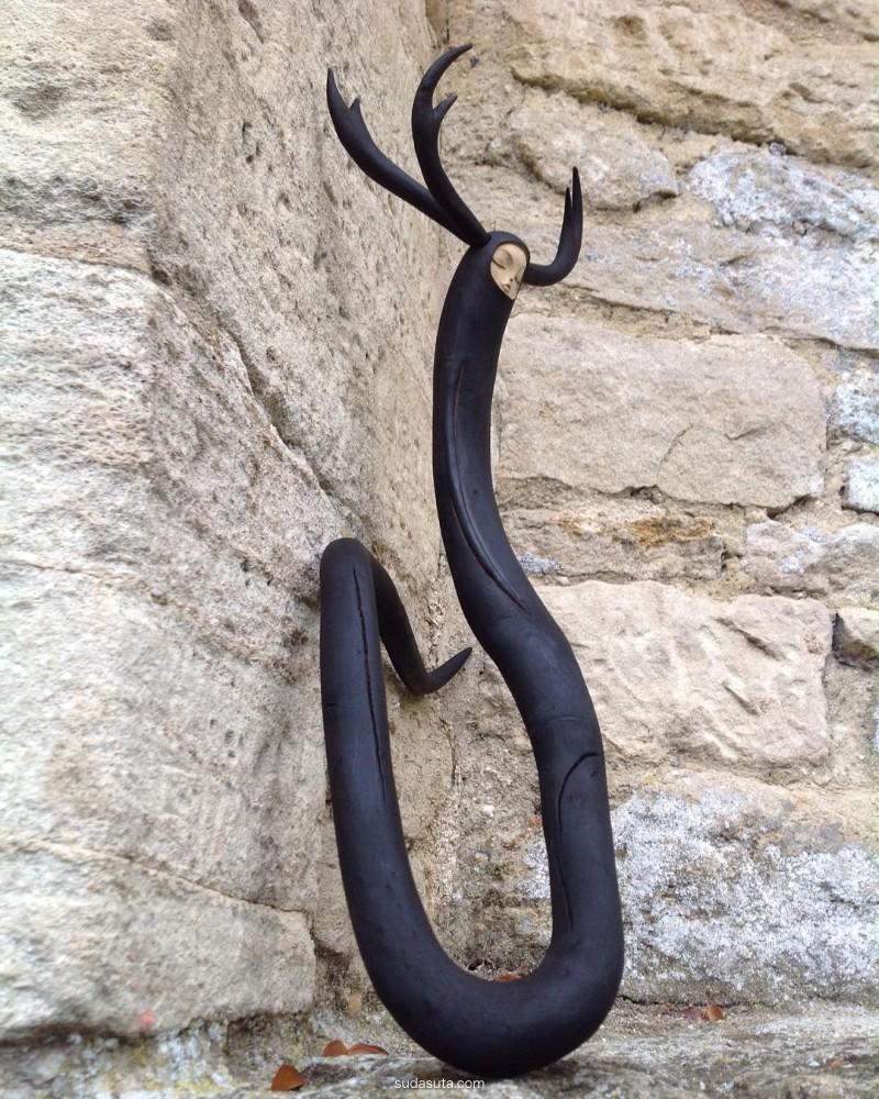 Tach Pollard  纤细的城市雕塑艺术