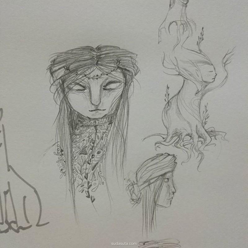 Ul Zak 儿童插画欣赏