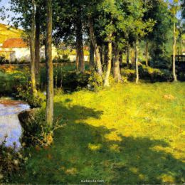 Willard Leroy Metcalf  艺术作品欣赏