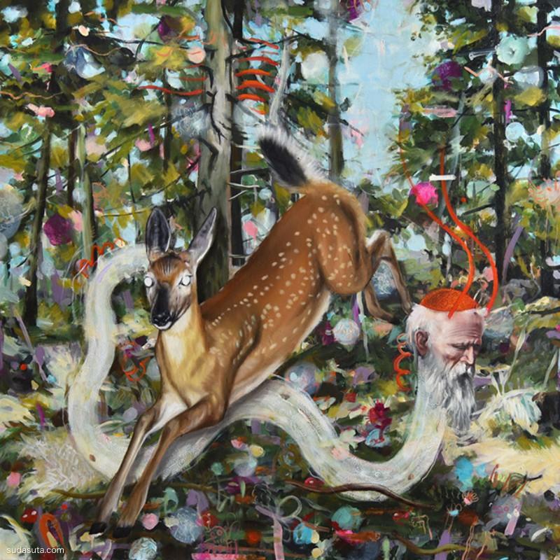 Heiko Müller 超现实主义混合艺术欣赏