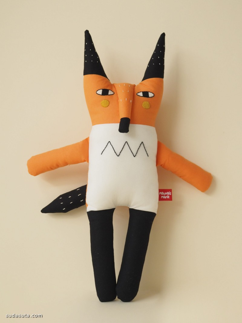 Elsa Boucinha 可爱蠢萌的手工玩具
