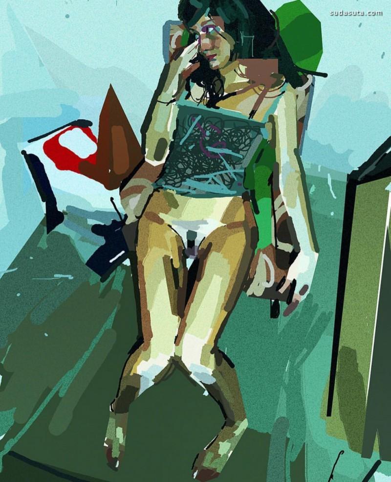 Alberto Mielgo 绘画艺术欣赏