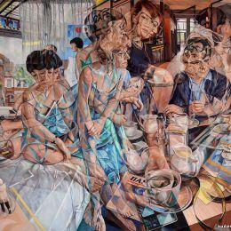 Clive Head 时间的流逝 抽象油画作品欣赏