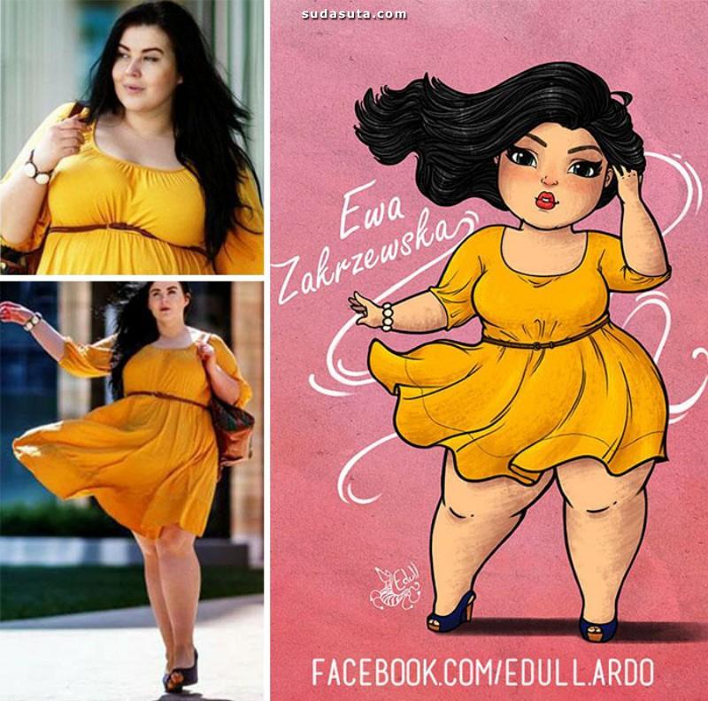 Eduardo Santos 可爱优雅的大码女生