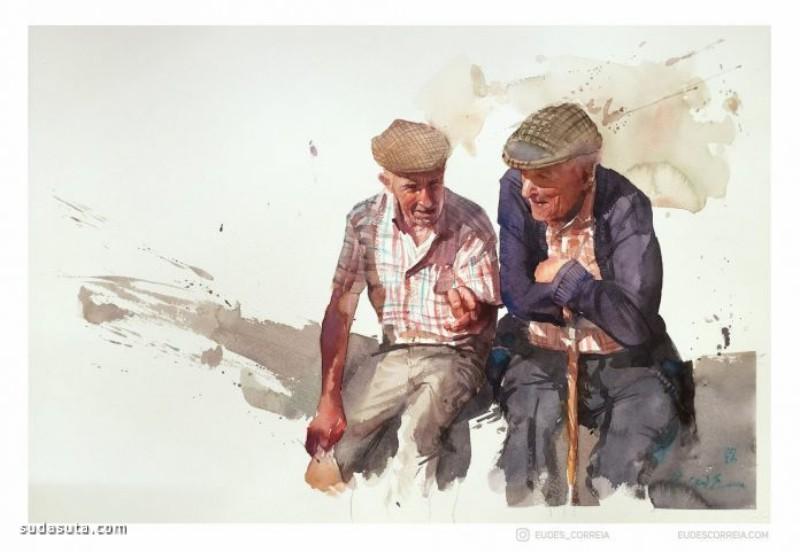 Eudes Correia 水彩插画欣赏