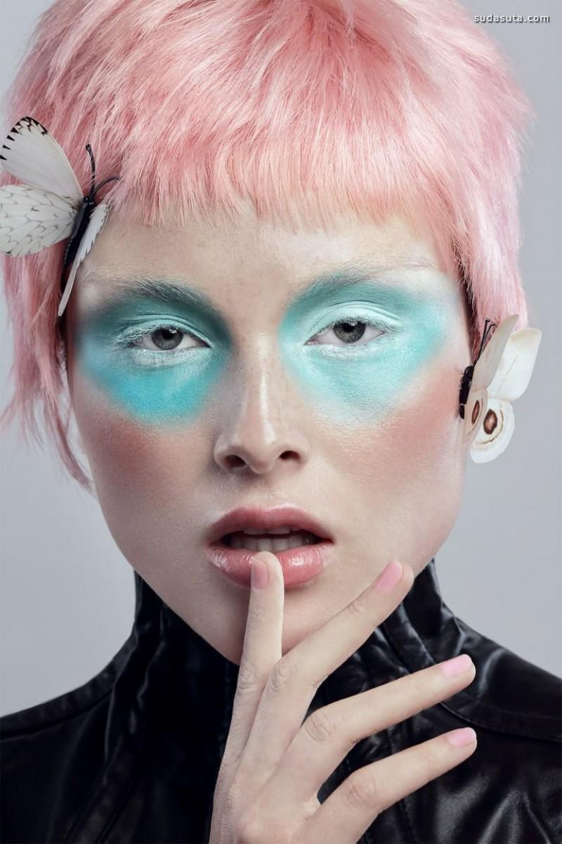 Fidel Gonzalez 彩妆设计及时尚摄影欣赏