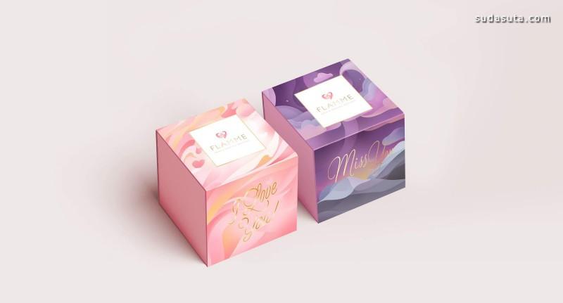 Flamme 粉红色 包装设计欣赏