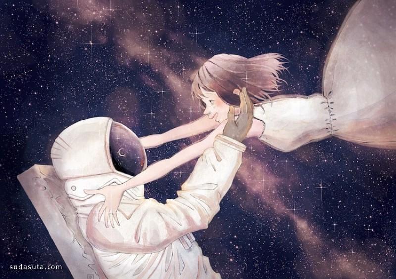 Joze Shimazaki 浪漫的二次元瞬间